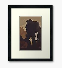 Shadow of the Colossus  Framed Print