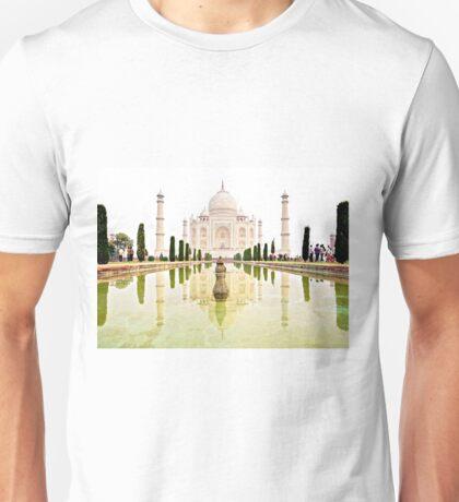 The Taj Mahal at Sunrise in November  T-Shirt