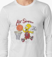 AIR SIMPSON-IT'S IN THE SHOES T-Shirt