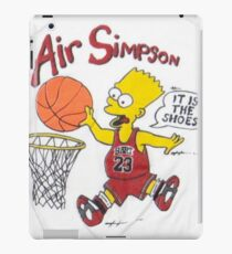 AIR SIMPSON-IT'S IN THE SHOES iPad Case/Skin