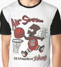 "AIR SIMPSON BLACK BART ""YOU CAN'T TOUCH THIS"" Graphic T-Shirt"