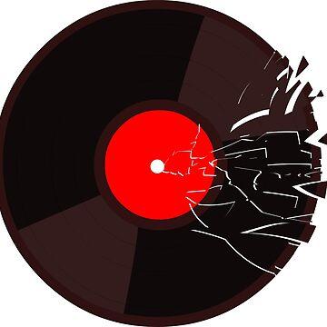 shattered vinyl by placidplaguerat