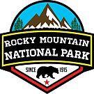 ROCKY MOUNTAIN NATIONAL PARK COLORADO BEAR HIKING CLIMBING CAMPING by MyHandmadeSigns