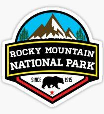 ROCKY MOUNTAIN NATIONAL PARK COLORADO BEAR HIKING CLIMBING CAMPING Sticker