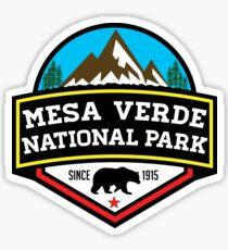 MESA VERDE NATIONAL PARK COLORADO BEAR HIKING CLIMBING CAMPING Sticker