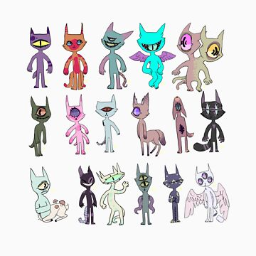 mANY CAT by gypsypony