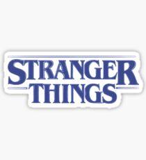 Stranger Things - Blue Sticker