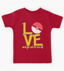 Poke-Love #3-b Kids Tee