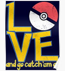 Poke-Love #3-b Poster