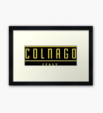 Colnago Racing Bicycles Italy Framed Print