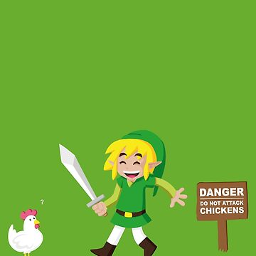 Link and the chickens ... by Alondyte