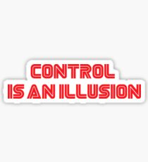 Mr. Robot - Control is an illusion Sticker