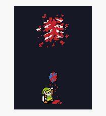 Link got a heart (super nes edition) Photographic Print