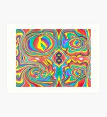 Rainbows In, Rainbows Out Art Print