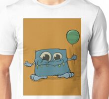 Bigfoot & His Balloon w/ BG Unisex T-Shirt