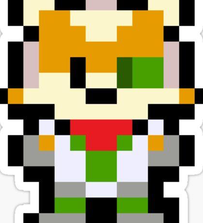 Pixel Fox McCloud Sticker