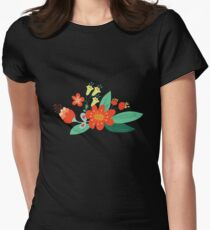 Flowers and hearts T-Shirt