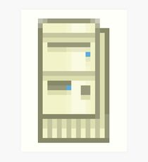 Pixel IBM Aptiva Art Print