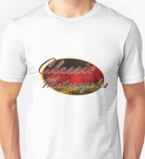Classic German Motorcycle Design Unisex T-Shirt