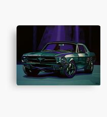 Ford Mustang 1967 Painting Canvas Print