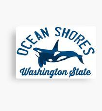 Ocean Shores - Washington State. Canvas Print