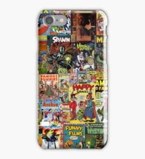 Comic Book Cover Collage iPhone Case/Skin