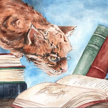 The Wise Cat by JCathryn