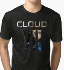 <FINAL FANTASY> Cloud VII Tri-blend T-Shirt