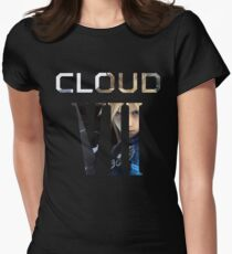 <FINAL FANTASY> Cloud VII Womens Fitted T-Shirt