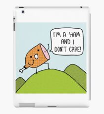 I Am a Ham iPad Case/Skin