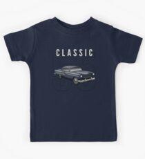 1955 Classic Vintage American Car Kids Tee