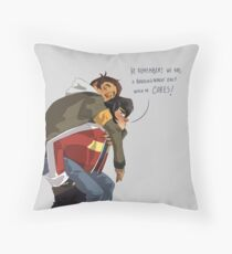 Klance at early stage! Throw Pillow