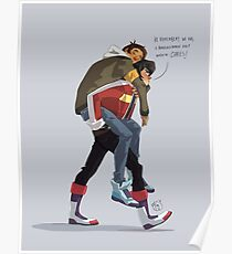 Klance at early stage! Poster