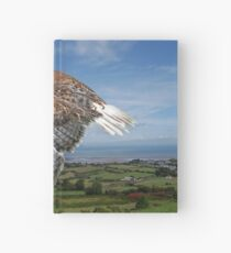 The Red-tailed Hawk over Dungarvin Bay  Hardcover Journal