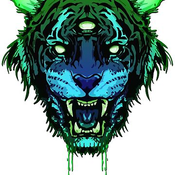 RL9 - Toxic Tiger  by BrittainDesigns