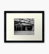 Ruins. Framed Print