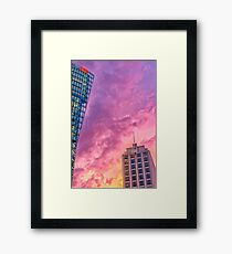 DB-Tower and Adlon Hotel Framed Print