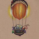 Traveling in Style (further adventures of Explorer Snails) by justteejay