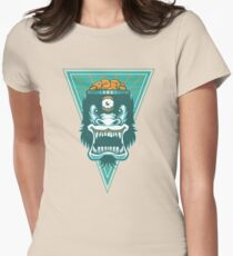 Irradiated Gorilla No. 2 Womens Fitted T-Shirt
