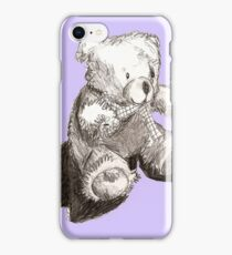 Purple Teddy iPhone Case/Skin