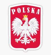 POLSKA EAGLE SHIELD  Sticker