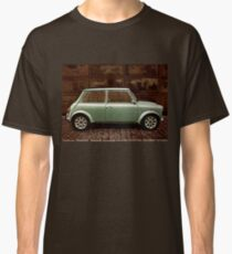 Austin Mini Cooper Mixed Media Classic T-Shirt