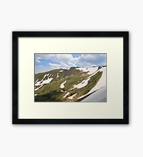 On Top Of The Rockies Framed Print