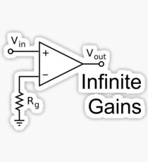 Infinite Gains Sticker