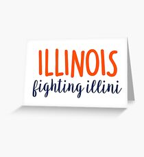 University of Illinois Greeting Card