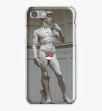 Poké ball David iPhone Case/Skin