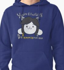 You're filled with Detemmienation Pullover Hoodie