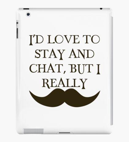 I Mustache iPad Case/Skin