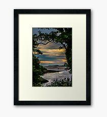 Port Na Mara Framed Print