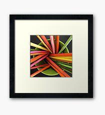 Bucket of Color Framed Print